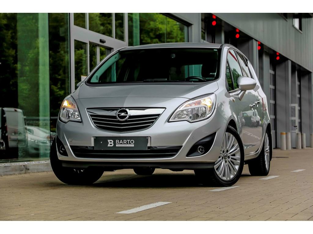 Tweedehands te koop: Opel Meriva Grijs - 14 Turbo 120pk - Navi - Auto Airco - Verwarmde zetelsstuur -