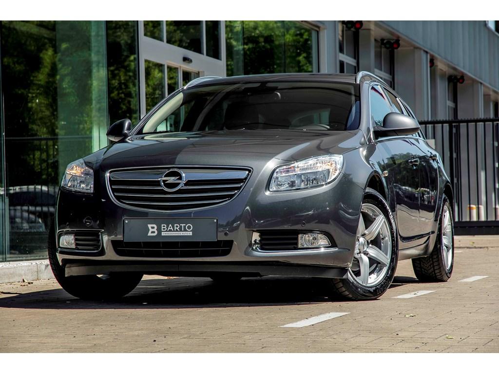 Tweedehands te koop: Opel Insignia Anthraciet - 20d 130pk - Leder - Navi - Auto Airco - Elektr koffer -