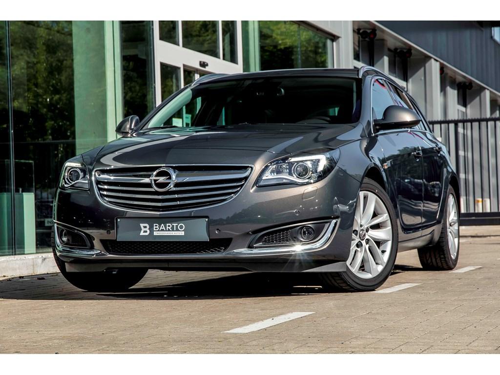 Tweedehands te koop: Opel Insignia Anthraciet - 20d 140pk - Keyless startentry - Camera - Dodehoeksens - Leder -