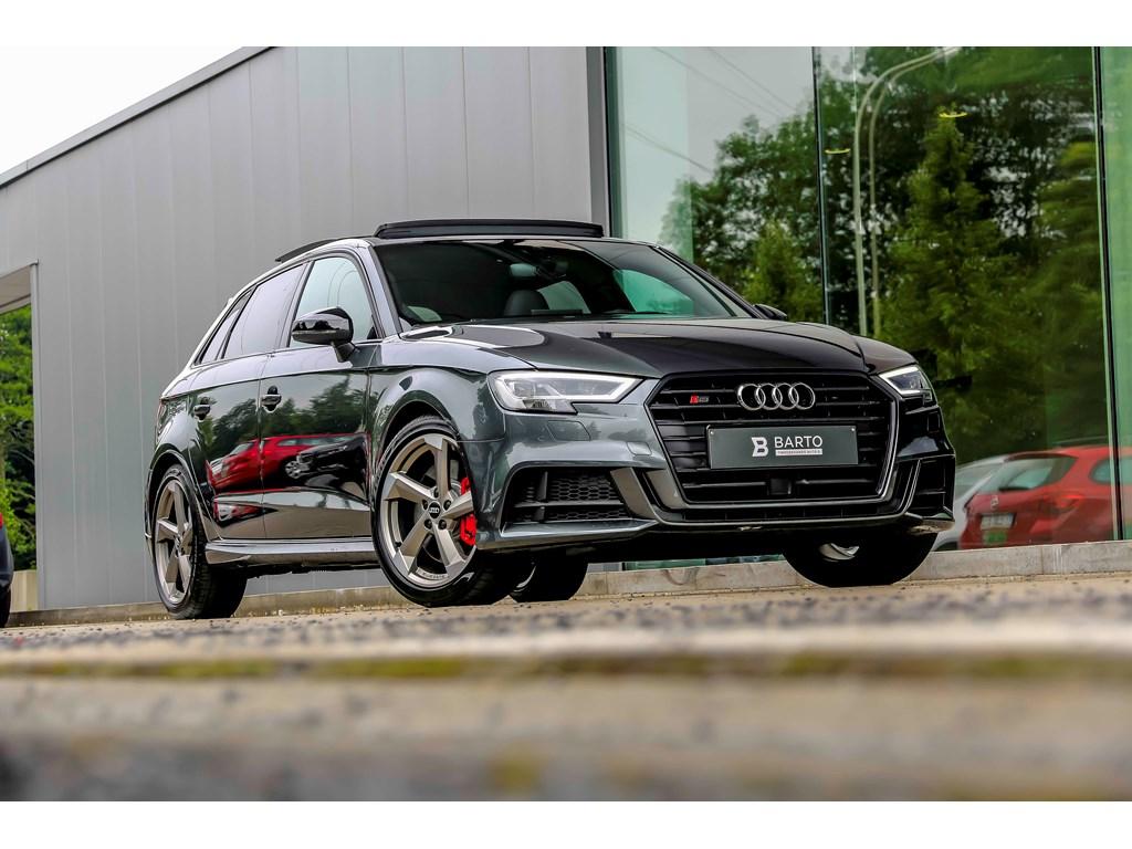 Audi-S3-Grijs-NIEUW-RS-zetels-Open-dak-BO-Safety-pack-Shadow-line-