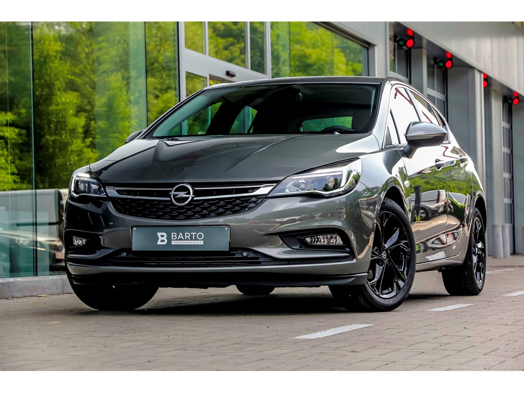 Tweedehands te koop: Opel Astra Grijs - 10 Turbo 105pk - Camera - Navi - Keyless - Dodehoek - Botswrsch -