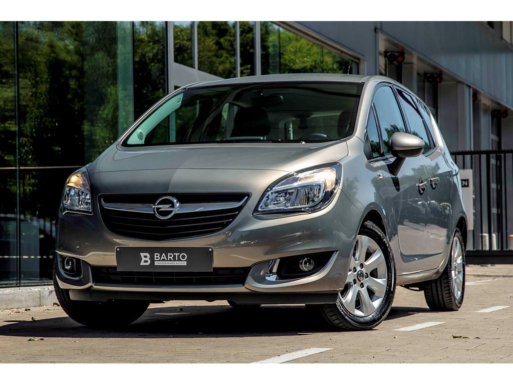 Tweedehands te koop: Opel Meriva Bruin - 14b 100pk - Airco - Cruisectrl - Parkeersens - Weinig kms