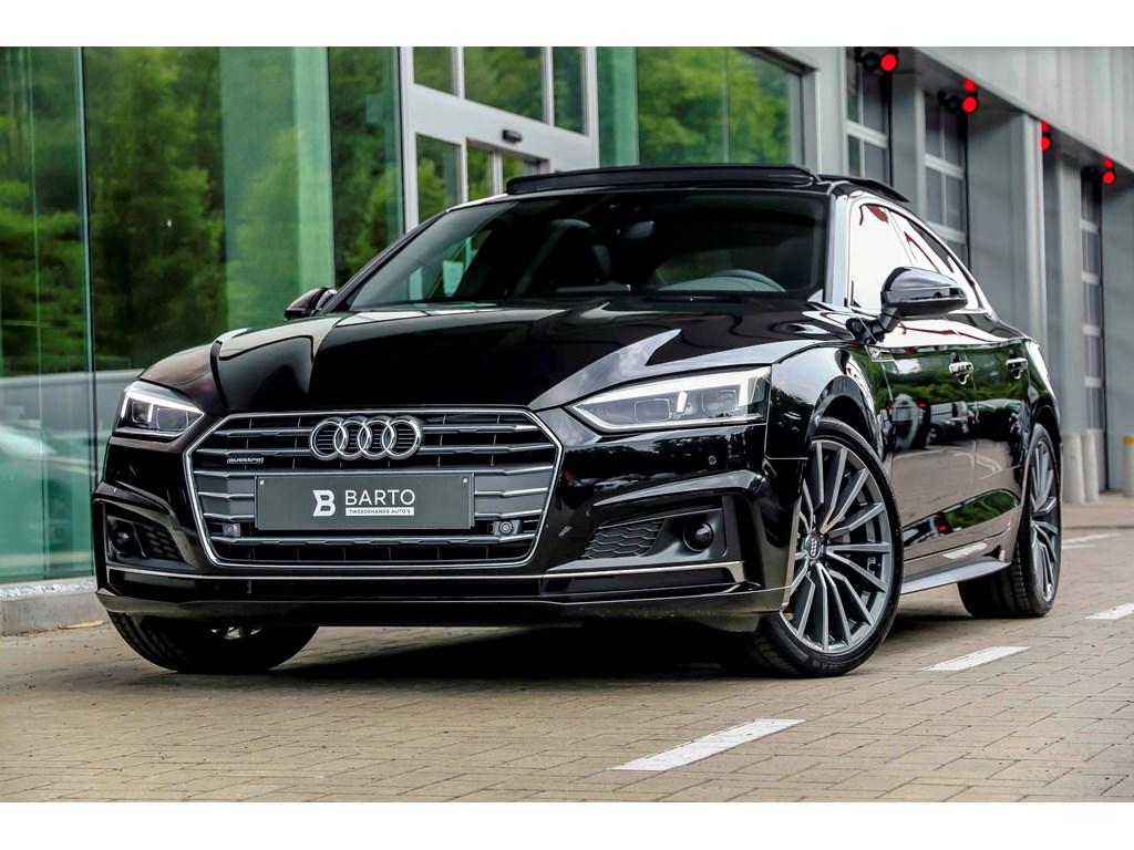Tweedehands te koop: Audi A5 New Zwart - Quattro - Matrix - BO - Pano dak - AssPack Tour - Nappa Leder - NIEUW