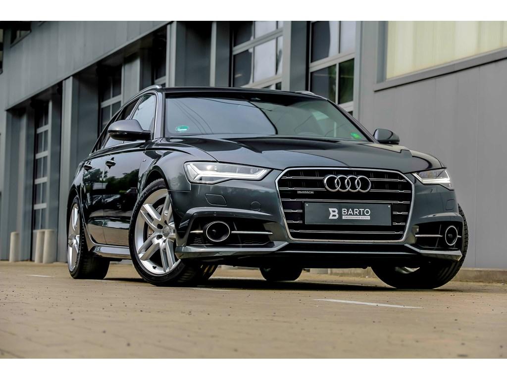Tweedehands te koop: Audi A6 Grijs - V6 320pk - Luchtvering - Adapt CC - S line - Bose - Full LED - 19 velgen