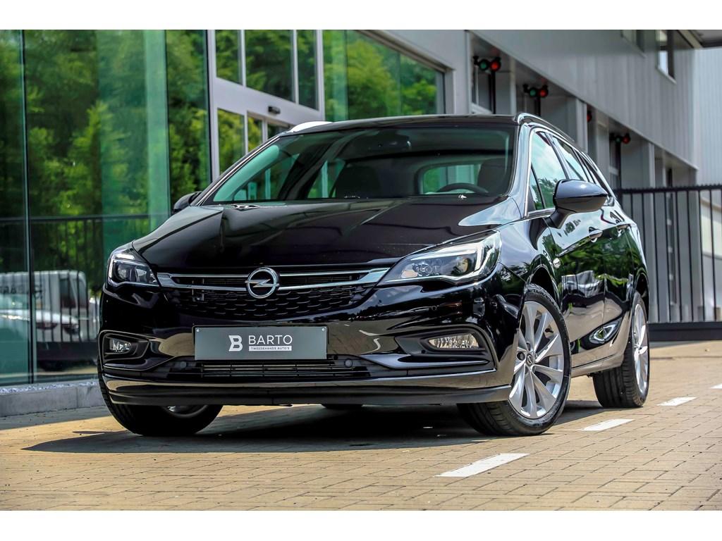 Tweedehands te koop: Opel Astra Zwart - 14 150pk - Automaat - Camera - Navi - Verwarmde zetelsstuur - keyless -