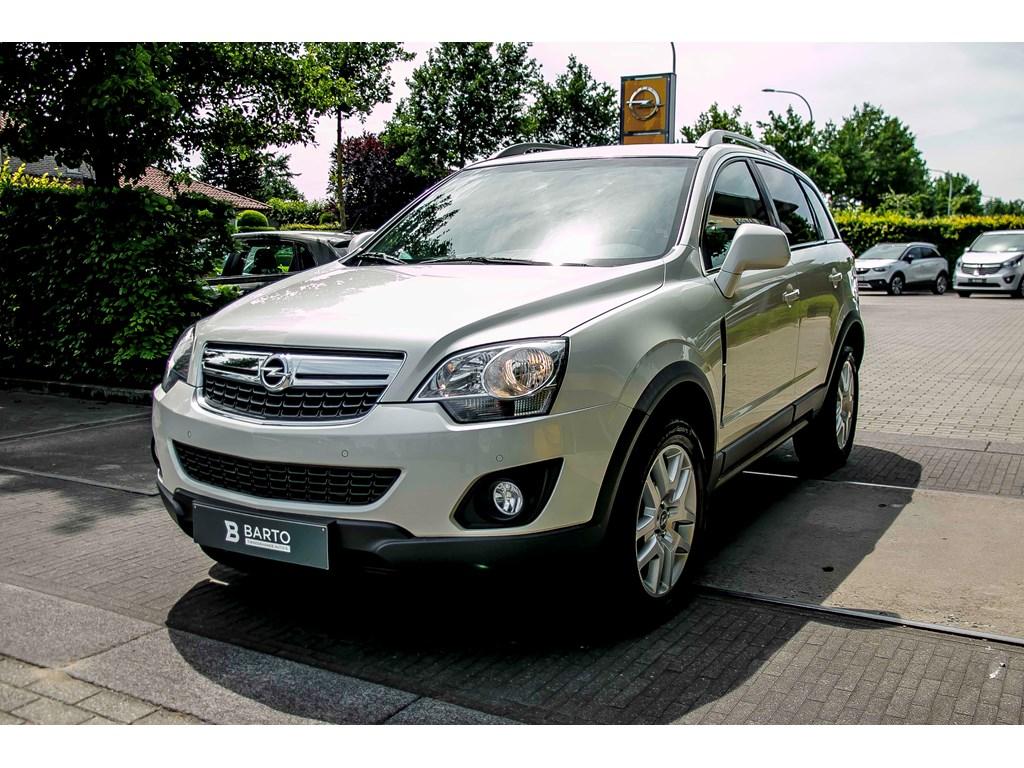 Tweedehands te koop: Opel Antara Wit - Energy 22 CDTi 163pk - AUTOMAAT - Leder - Trekhaak - Auto Airco - Verwarmde zetels -