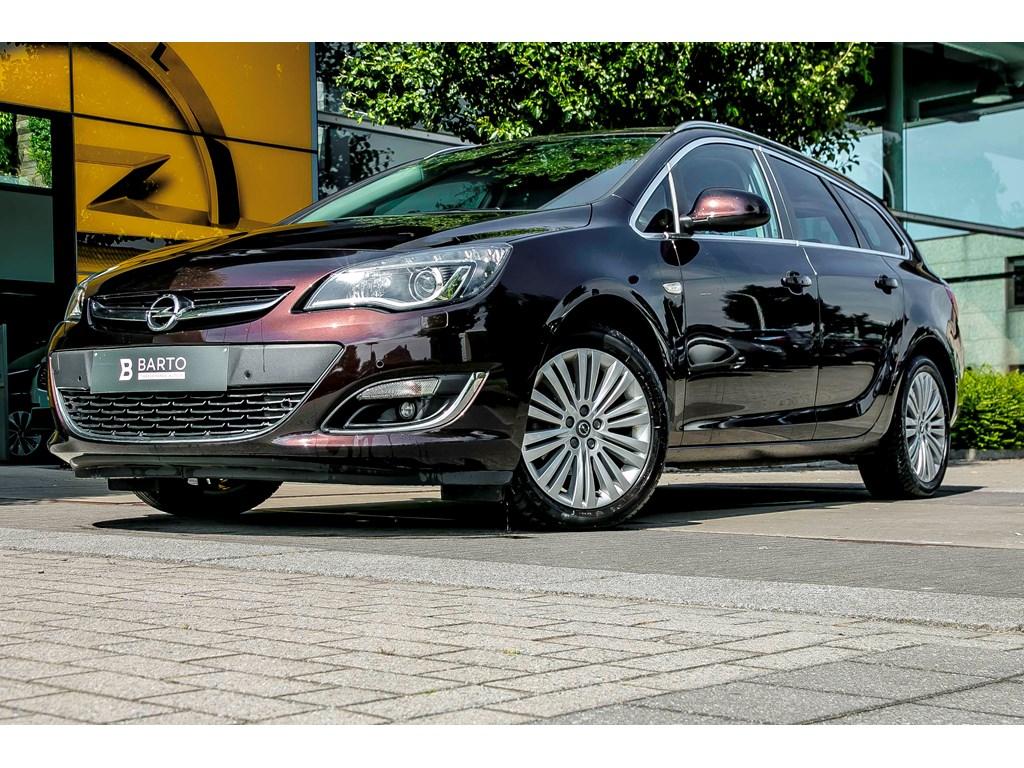 Tweedehands te koop: Opel Astra Bruin - 16b 115pk - LPG - Automaat - Leder - Xenon - Navi -