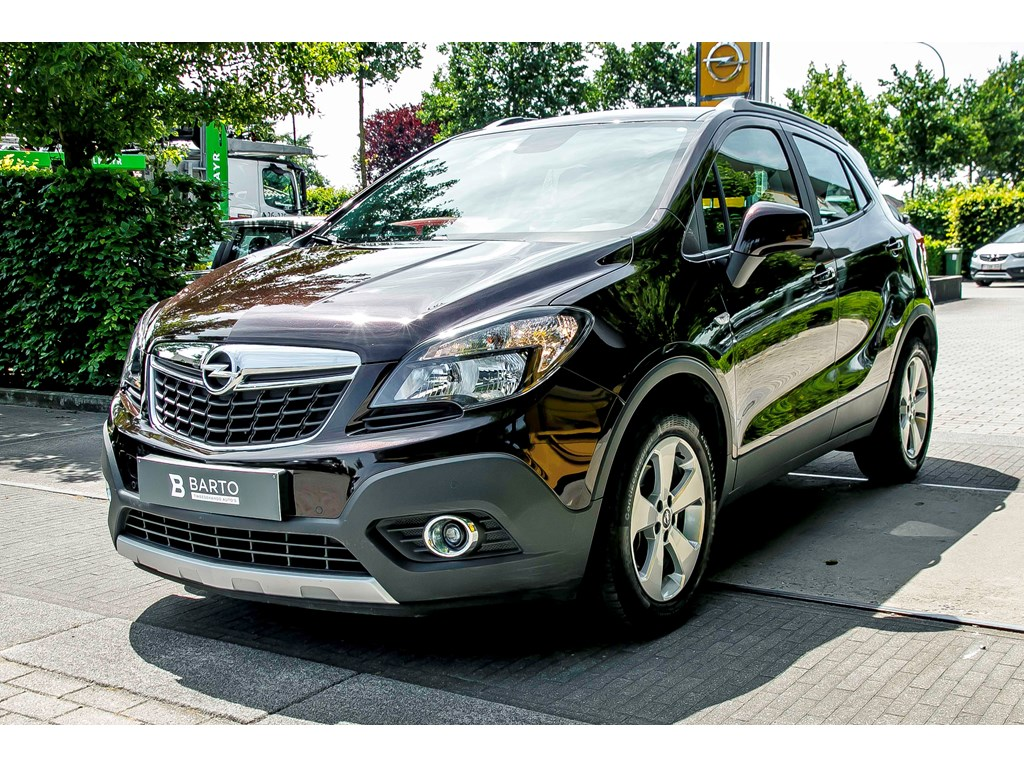 Tweedehands te koop: Opel Mokka Bruin - 16 Benz 115pk Enjoy - Navi - Airco - Trekhaak - Bluetooth - CruiseCon -