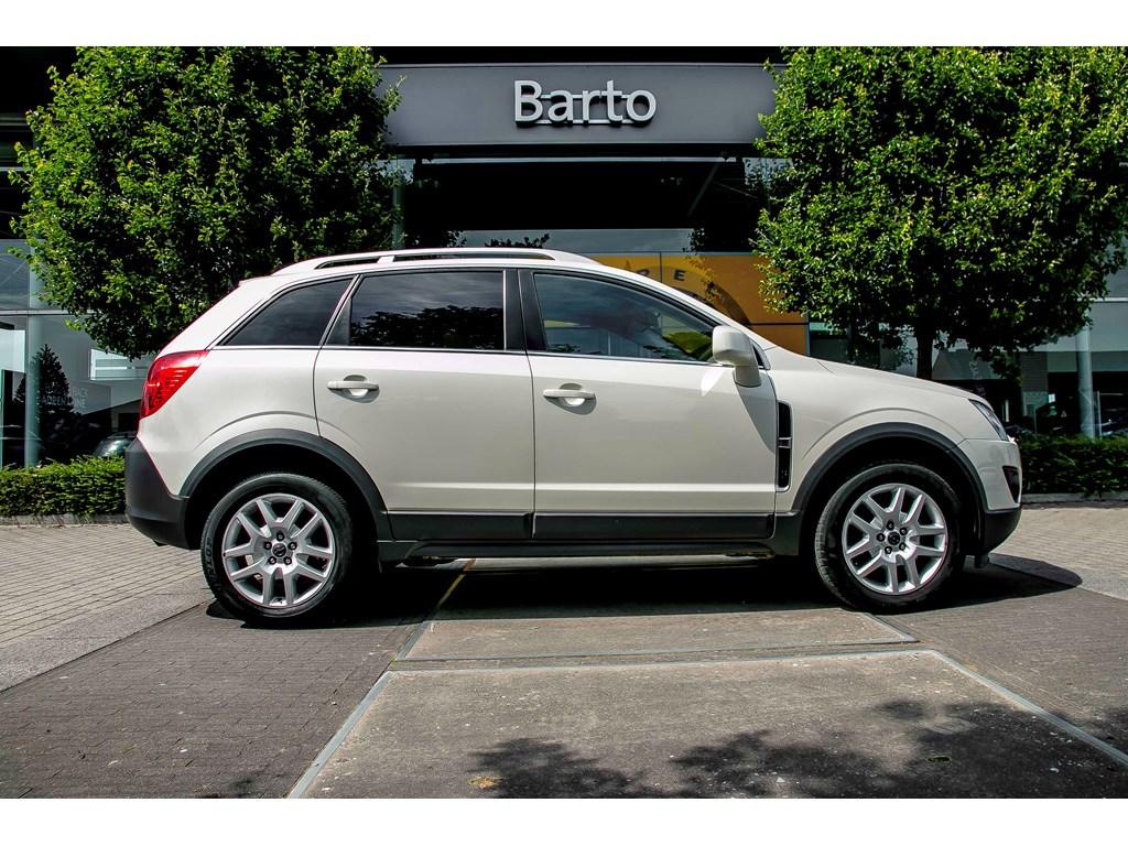 Tweedehands te koop: Opel Antara Wit - 22d 163pk - Automaat - Auto Airco - Navi - Leder - Bluetooth -