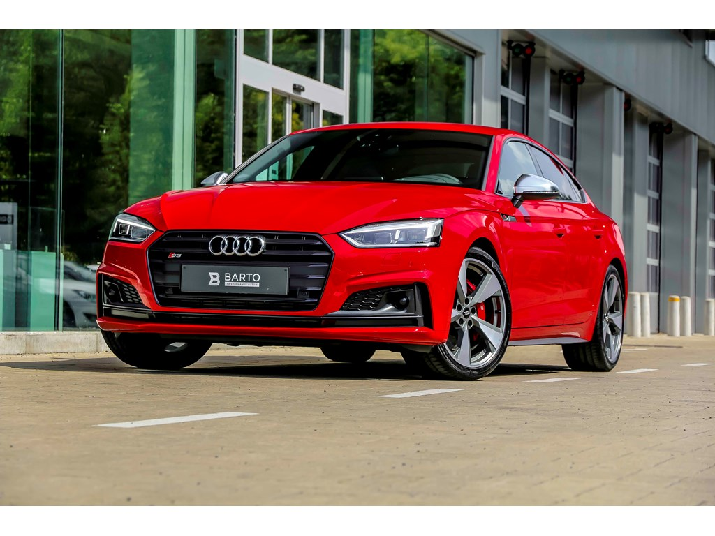 Tweedehands te koop: Audi S5 Rood - Sportback - BO - Sport Diff - Matrix - Pack Tour - HeadUp