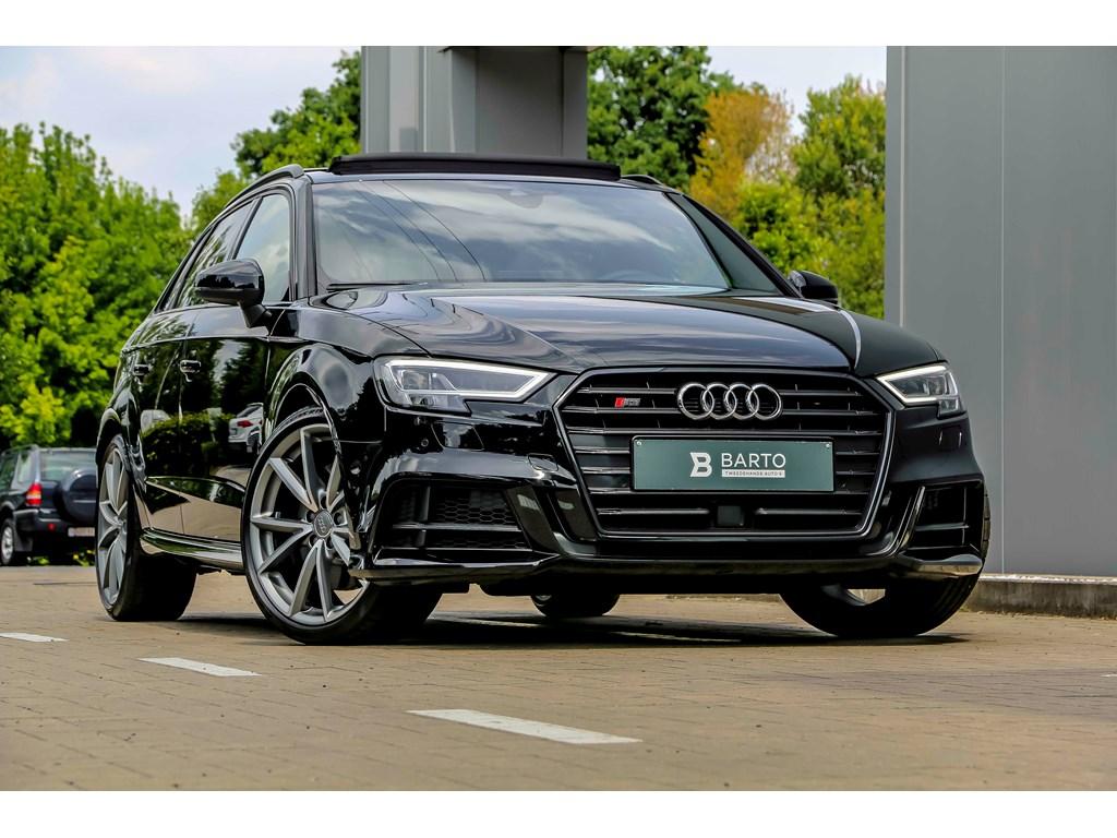 Tweedehands te koop: Audi S3 Zwart - Nieuw - Magn RideBOPanoRS zetels4j Garantie