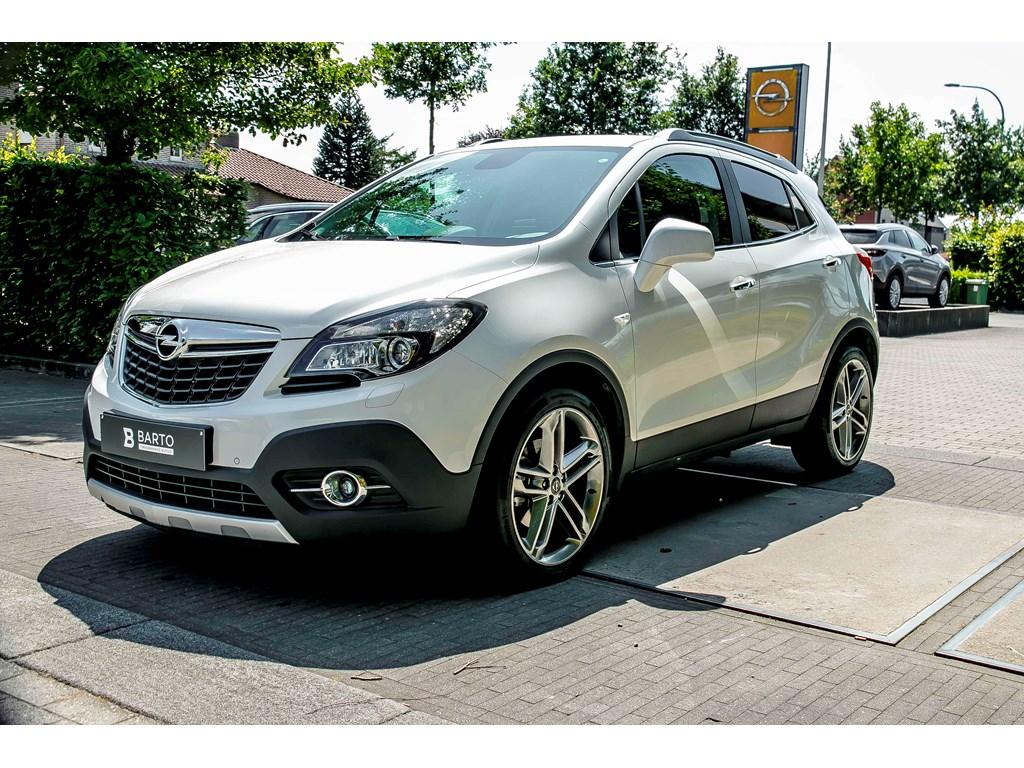 Tweedehands te koop: Opel Mokka Wit - 14b 140pk - Leder - Auto Airco - 19 - Navi -