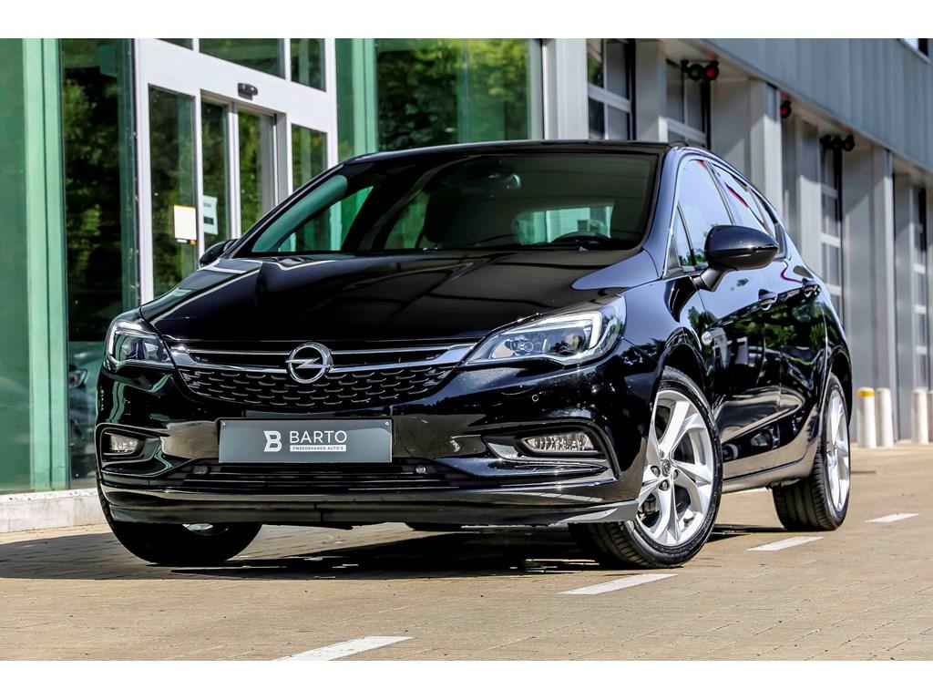 Tweedehands te koop: Opel Astra Zwart - 14b 125pk - Navi - Dode hoek - Camera - Offlane -