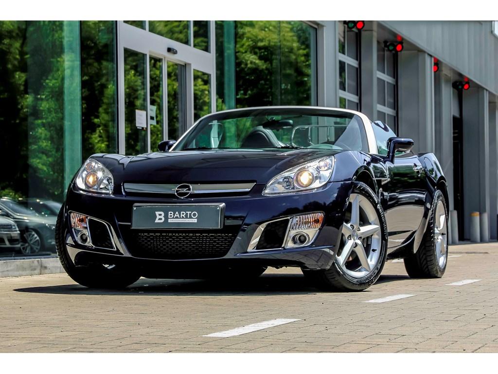 Opel-GT-Blauw-20b-260pk-Airco-Cruisectrl-Leder-
