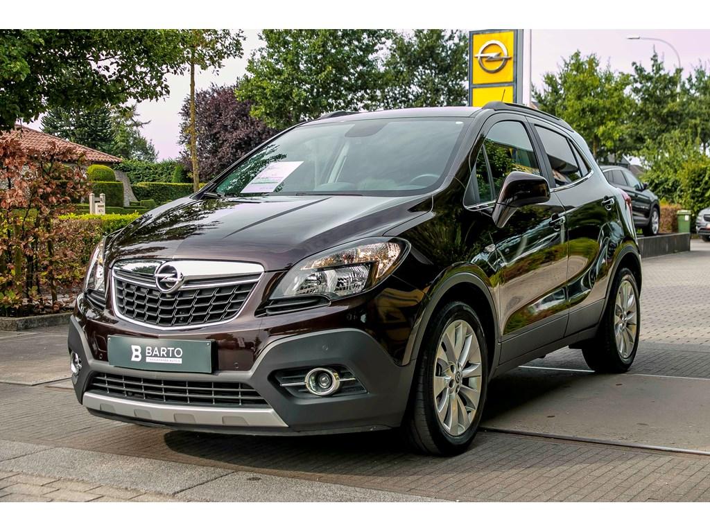Tweedehands te koop: Opel Mokka Bruin - 14 140pk - Navi - Leder - Auto Airco - Verwarmde zetelsstuur -