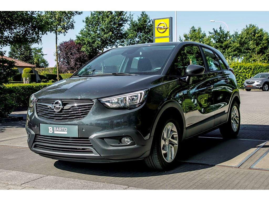 Tweedehands te koop: Opel Crossland X Anthraciet - Edition 12 Benz 81pk - Navi - Camera - Airco - Weinig kms