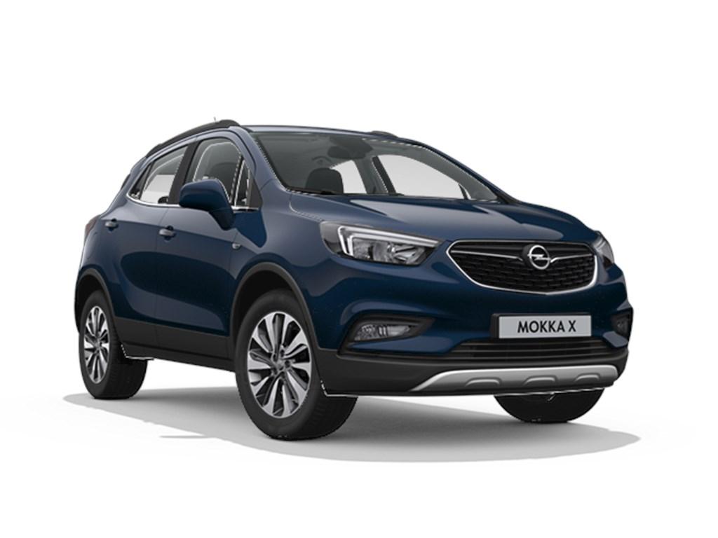 Tweedehands te koop: Opel Mokka Blauw - X Innovation 14 Turbo man 6 versn - Nieuw - Achteruitrijcamera - Navigatie - Leder