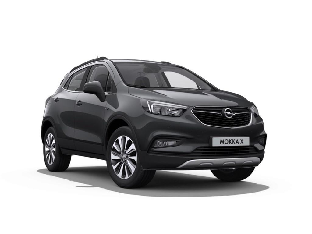 Tweedehands te koop: Opel Mokka Grijs - X Innovation 14 Turbo man 6 versn - Nieuw - Achteruitrijcamera - Navigatie - Leder