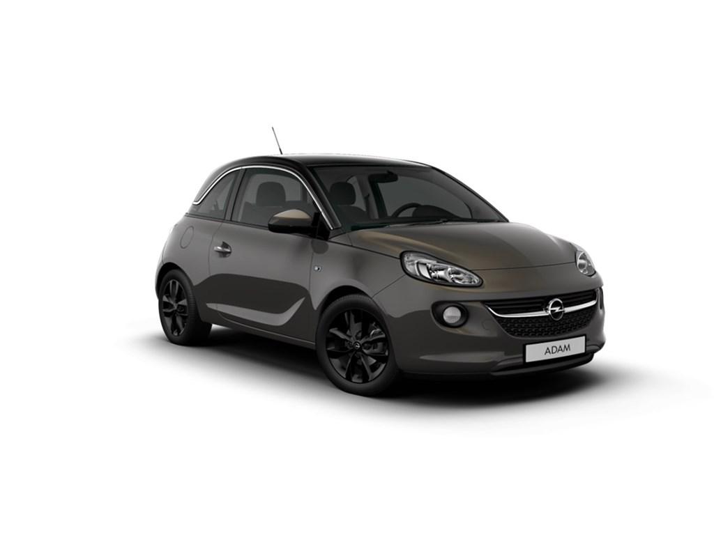 Tweedehands te koop: Opel ADAM Grijs - Jam 12 Benz 70pk - Nieuw - Navi - Chroom Pack - Favourite Pack