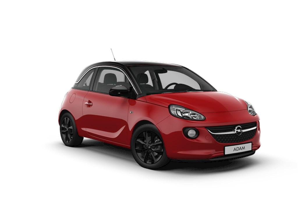 Opel-ADAM-Rood-Jam-12-Benz-70pk-Nieuw-Navi-Parkeersensoren-achter-Cruise-Control-