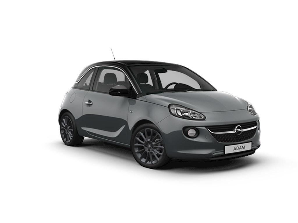 Tweedehands te koop: Opel ADAM Grijs - GLAM 12 Benz 70pk - Nieuw - Elektr airco - Navi - Panorma Dak