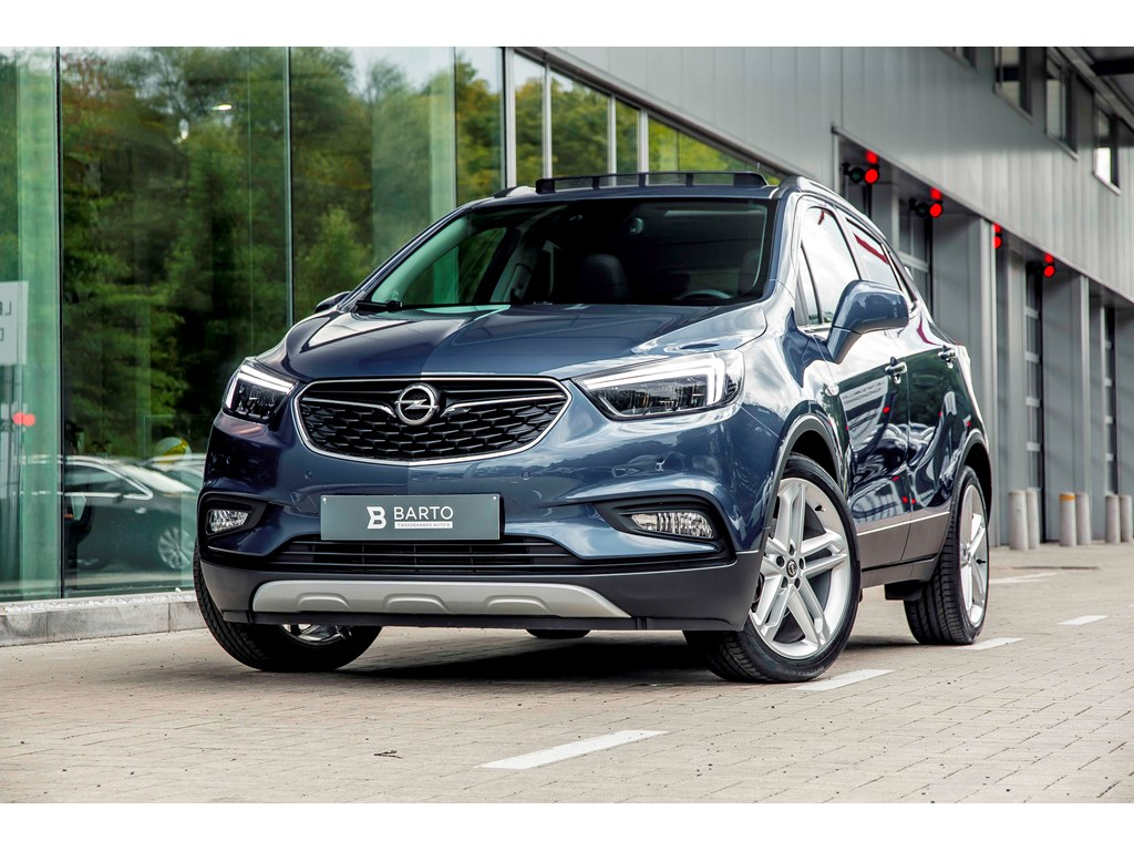 Tweedehands te koop: Opel Mokka Blauw - 14 140pk - LED Matrix - Keyless - Open dak - 19 - Camera -