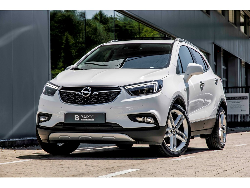 Tweedehands te koop: Opel Mokka Wit - 14b 140pk - LED matrix - Leder - Camera - Schuifdak -