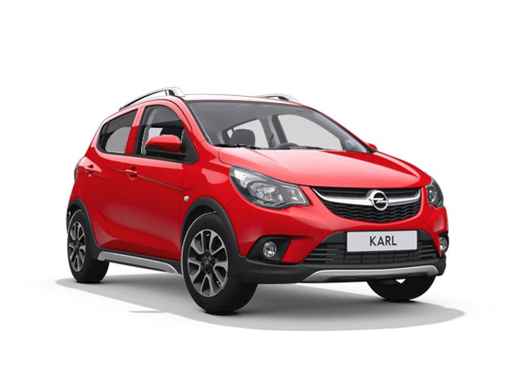 Tweedehands te koop: Opel KARL Rood - Rocks 10 Benz 73pk - Nieuw - Park Pilot achter - Cruise Control - IntelliLink