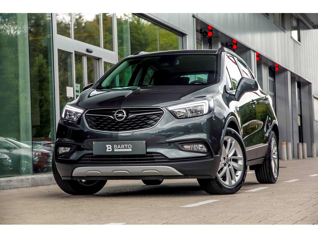 Tweedehands te koop: Opel Mokka Grijs - 16b 115pk - Navi - Airco - Parkeersens va -