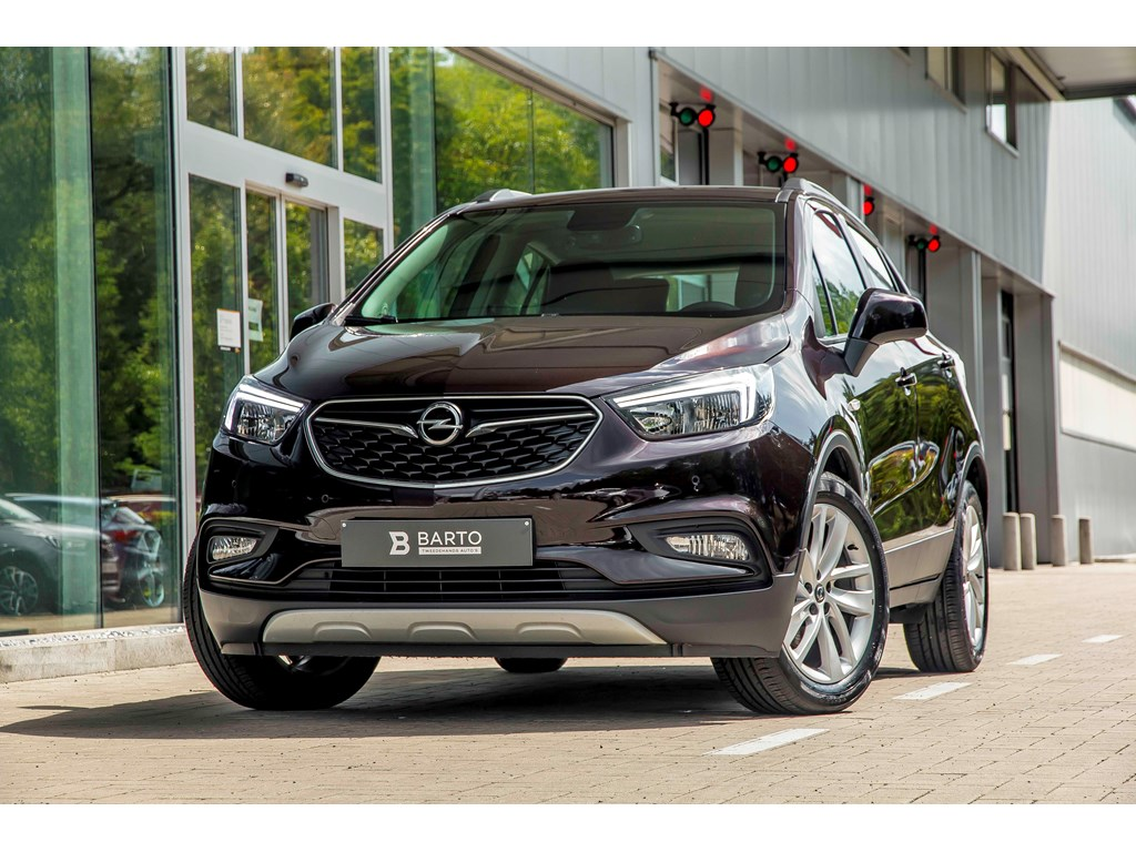 Tweedehands te koop: Opel Mokka Bruin - 16b 115pk - Navi - Airco - Parkeersens va -