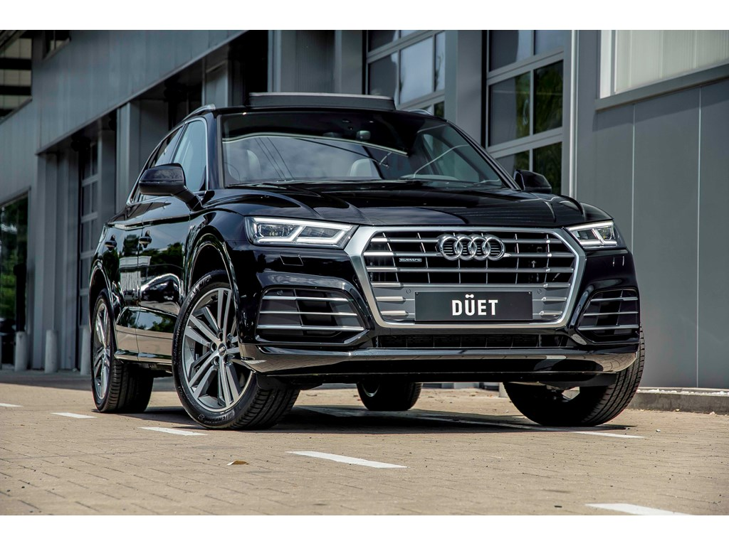 Tweedehands te koop: Audi Q5 New Zwart - Pano dak - S line - 20 - Matrix - camera - Virt cockpit -
