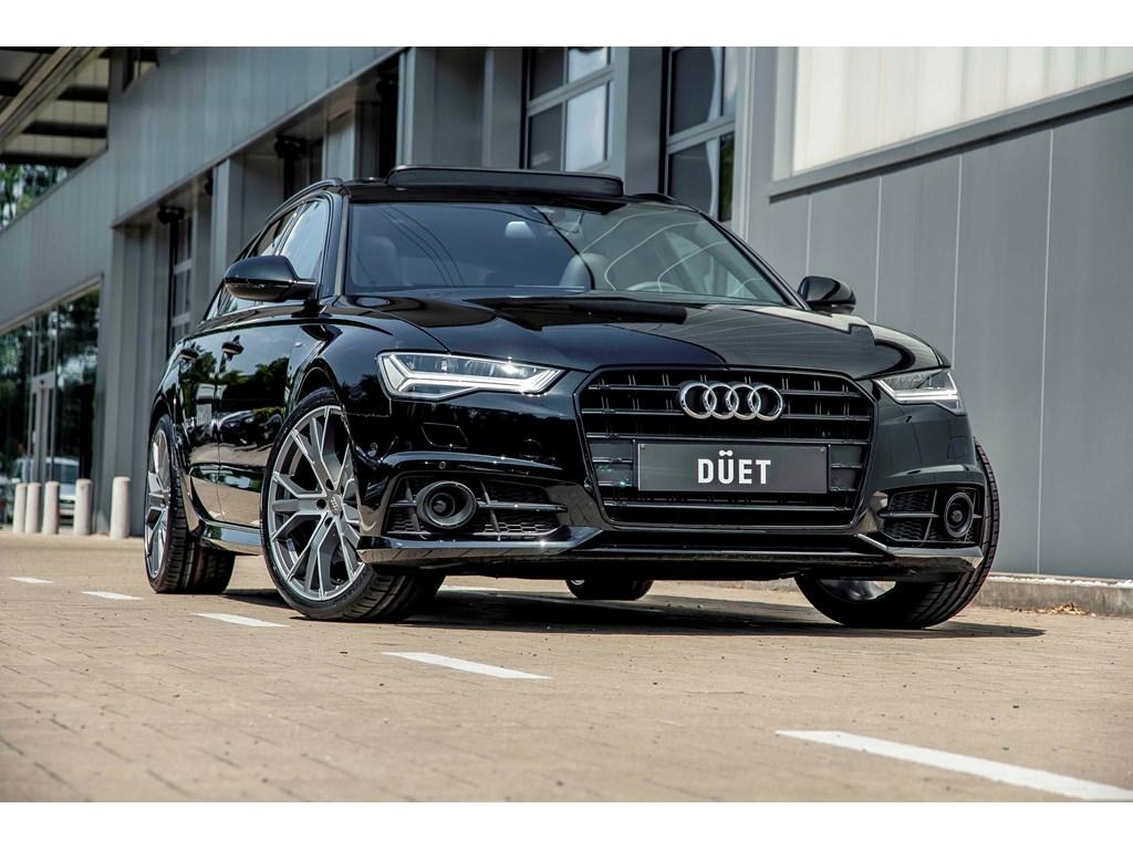 Audi-A6-Zwart-NIEUW-Adapt-CC-RS-zetels-Pano-dak-Blindspot-20-lane-assist-