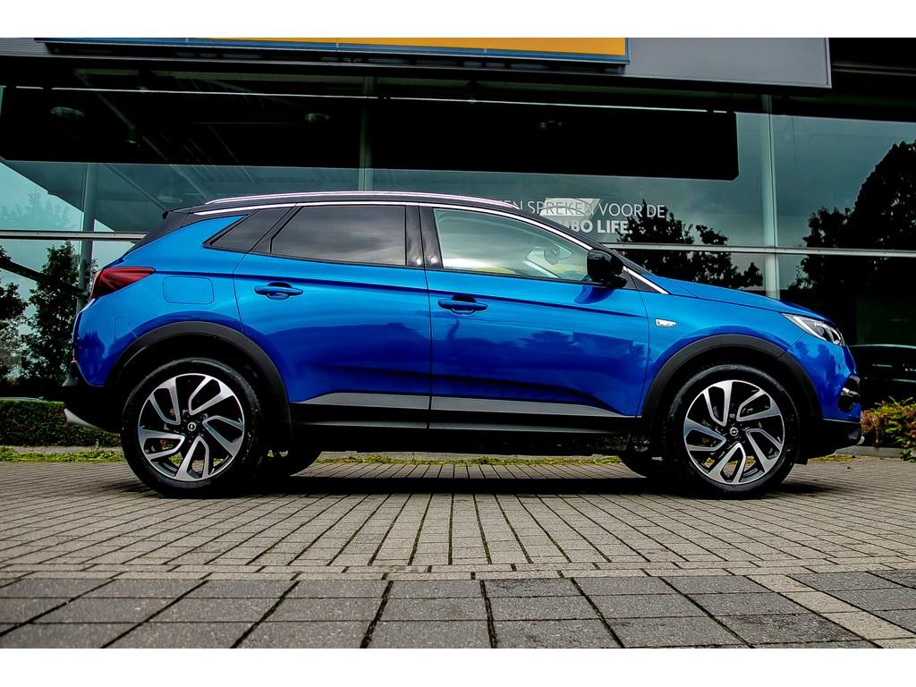 Tweedehands te koop: Opel Grandland X Blauw - 12 Turbo Benz 130pk Innovation - Demo wagen - Nieuw - Manueel 6 versn