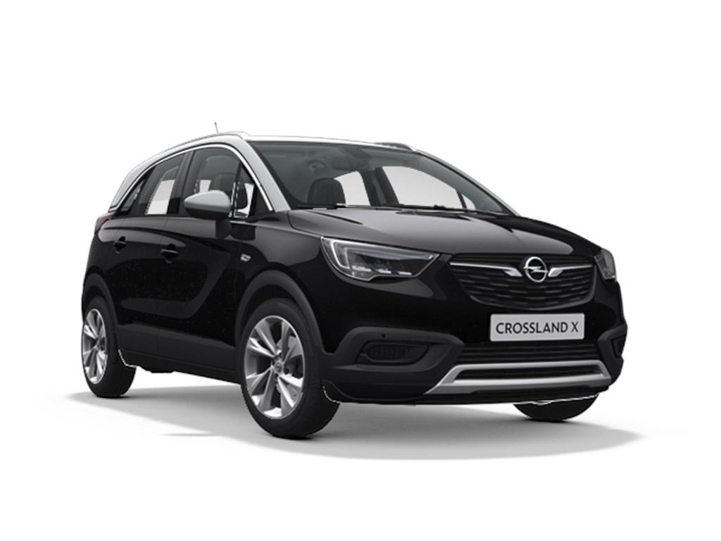 Tweedehands te koop: Opel Crossland X Zwart - 12 Turbo 110pk benzine Innovation - Navi - Achteruitrijcamera -