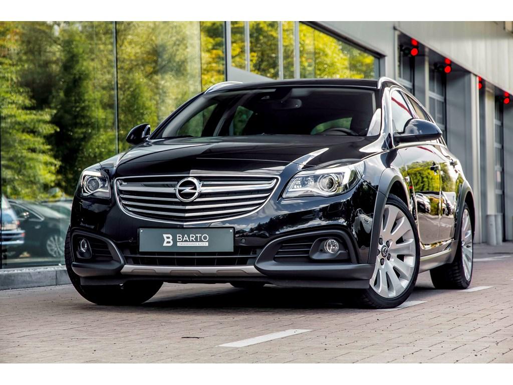 Tweedehands te koop: Opel Insignia Zwart - 20d 163PK - Erg Leder Zetels - Xenon - Navi - Auto Airco - Parkeersens -