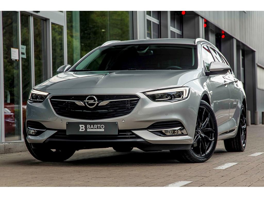 Tweedehands te koop: Opel Insignia Zilver - 15b 165pk - 5J GARANTIE - LED Matrix - Keyless - Verwarmd stoelstuur -