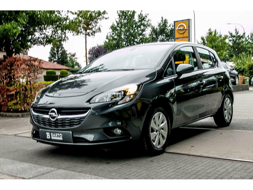 Tweedehands te koop: Opel Corsa Anthraciet - 12b 70pk - Airco - Intellilink - Regensens - Auto Lichten -