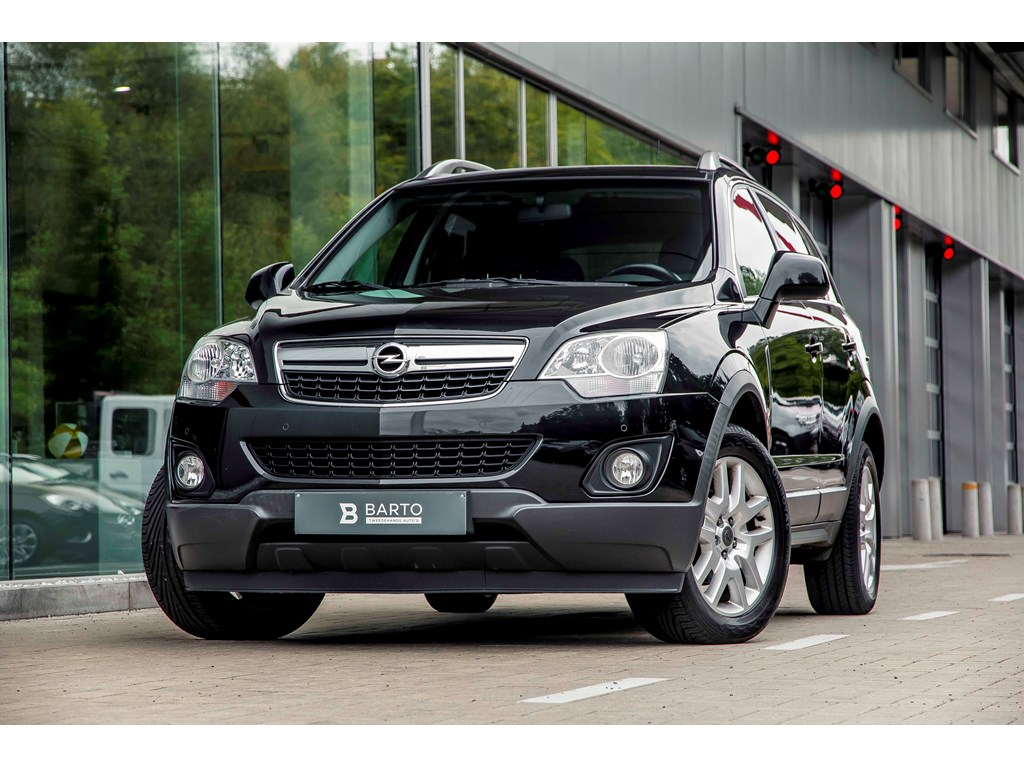 Tweedehands te koop: Opel Antara Zwart - 22d 163pk - Leder - Navi - Auto Airco - Trekhaak -