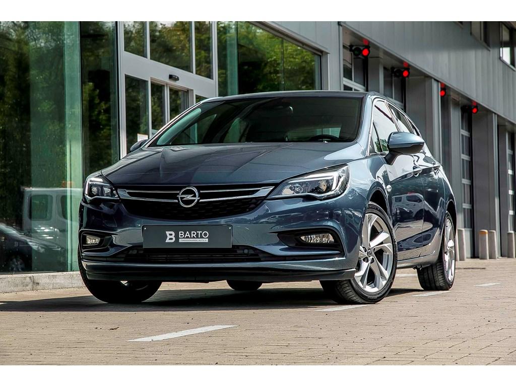 Tweedehands te koop: Opel Astra Blauw - 14b 125pk - Camera - Offlane - Parkeerhulp - Dodehoek -