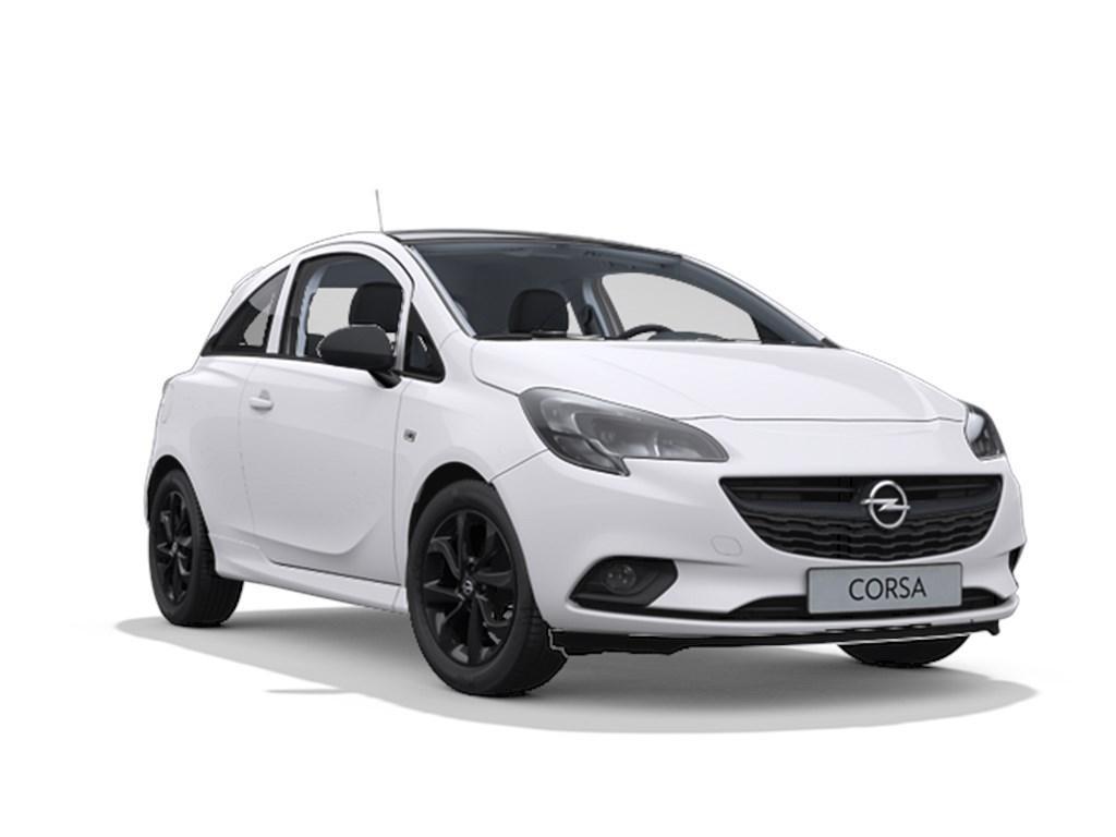 Tweedehands te koop: Opel Corsa Wit - 3-Deurs 14 Benz 90pk Black Edition - Nieuw - Navi - OPC Line