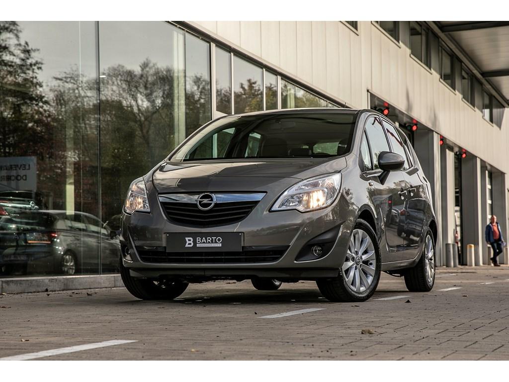 Tweedehands te koop: Opel Meriva Bruin - 14b 100pk - Parkeersens - Airco - Cruisectrl -