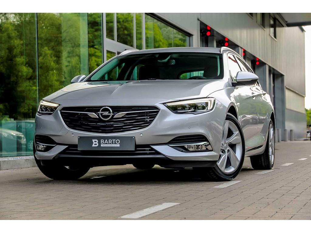 Tweedehands te koop: Opel Insignia Zilver - 15 Benz 165pk AUT - 5 JAAR GARANTIE - LED Matrix - Keyless - Verwarmd stoelstuur -