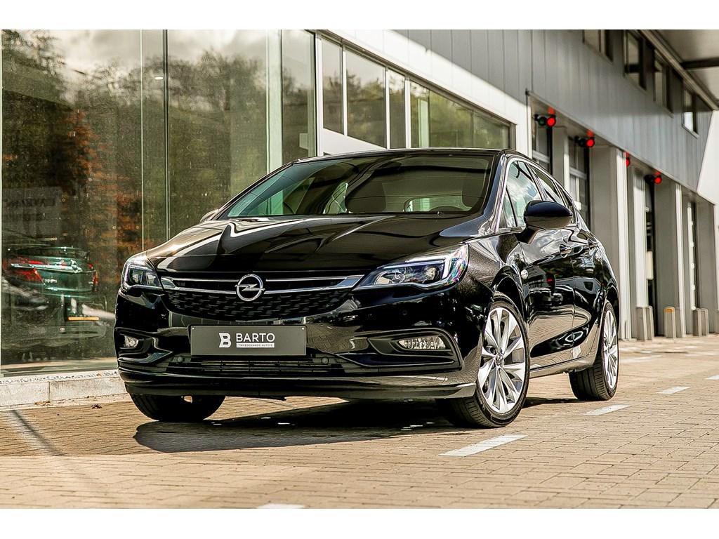 Tweedehands te koop: Opel Astra Zwart - 14b 150pk- Innovat - Camera - Dodehoek - Offlane - Navi -