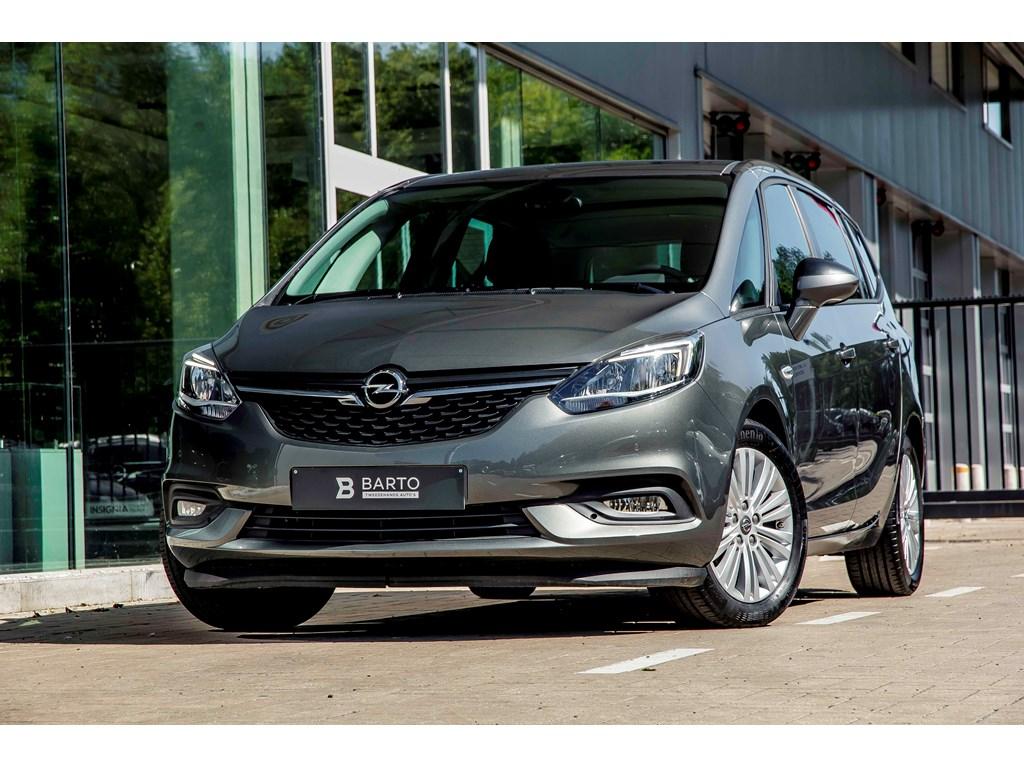Tweedehands te koop: Opel Zafira Tourer Grijs - 14T 140PK - Navi - 7 zitpl - Camera - Auto Airco - Weinig kms