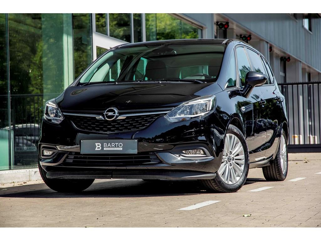Tweedehands te koop: Opel Zafira Tourer Zwart - 14T 140PK - Navi - 7 zitpl - Camera - Auto Airco - Weinig kms