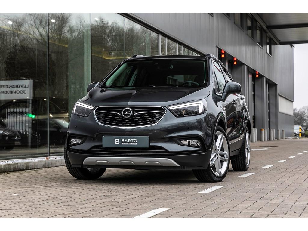 Tweedehands te koop: Opel Mokka Grijs - 14b 140pk - LED matrix - Leder - Camera - Schuifdak -