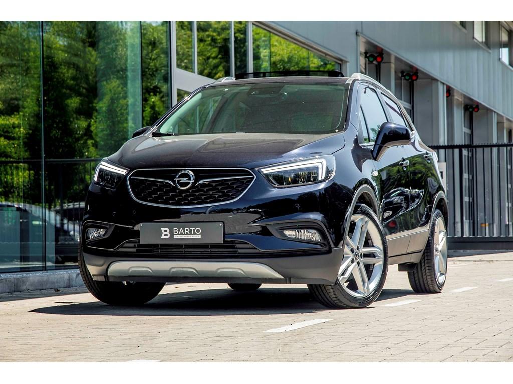 Tweedehands te koop: Opel Mokka Blauw - 14b 140pk - LED matrix - Leder - Camera - Schuifdak -