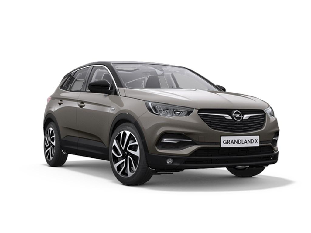 Tweedehands te koop: Opel Grandland X Grijs - 20 CDTi 180pk Automaat 8 Innovation - Nieuw - Navigatie - Leder - Elektr koffer -