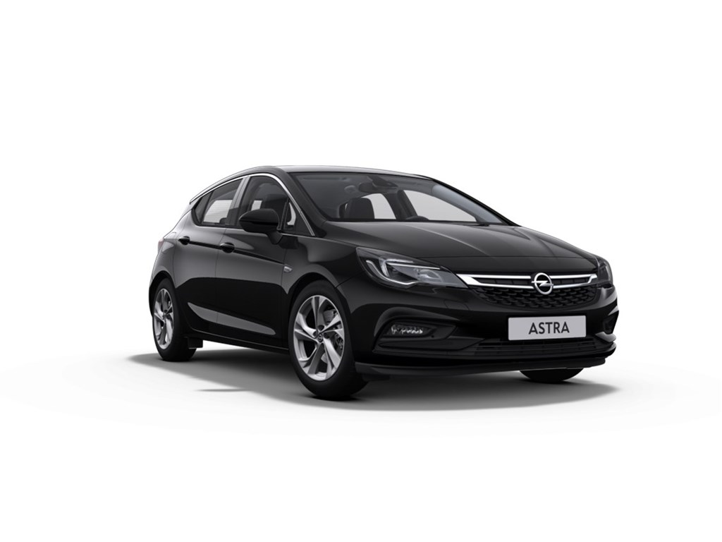 Tweedehands te koop: Opel Astra Zwart - 5-Deurs 14 Turbo Benz 125pk Innovation - Nieuw - Navigatie - Camera -