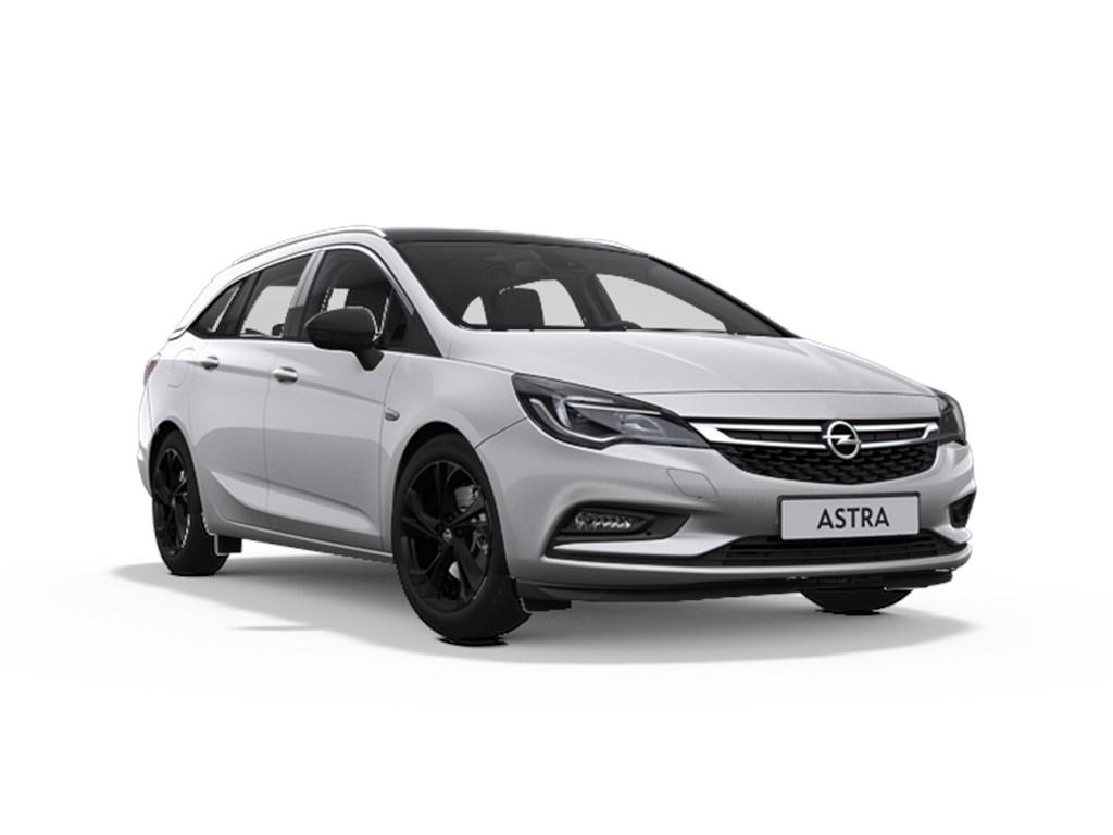 Tweedehands te koop: Opel Astra Zilver - Sports Tourer 14 Turbo Benzine 125pk Black Edition - Nieuw - Navigatie -